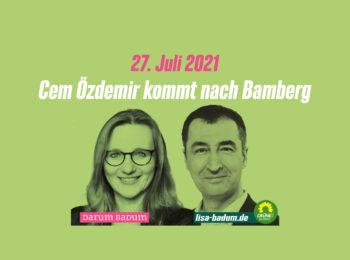 Lisa Badum und Cem Özdemir